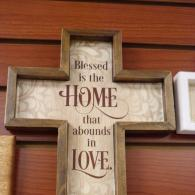 """Blessed is the Home that abounds in Love."""